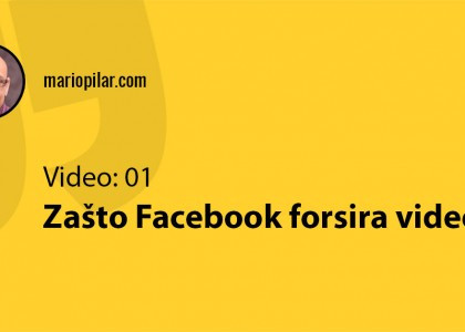 zašto facebook video ima bolji reach